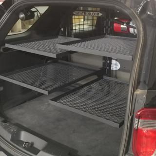 Squad Car Storage System