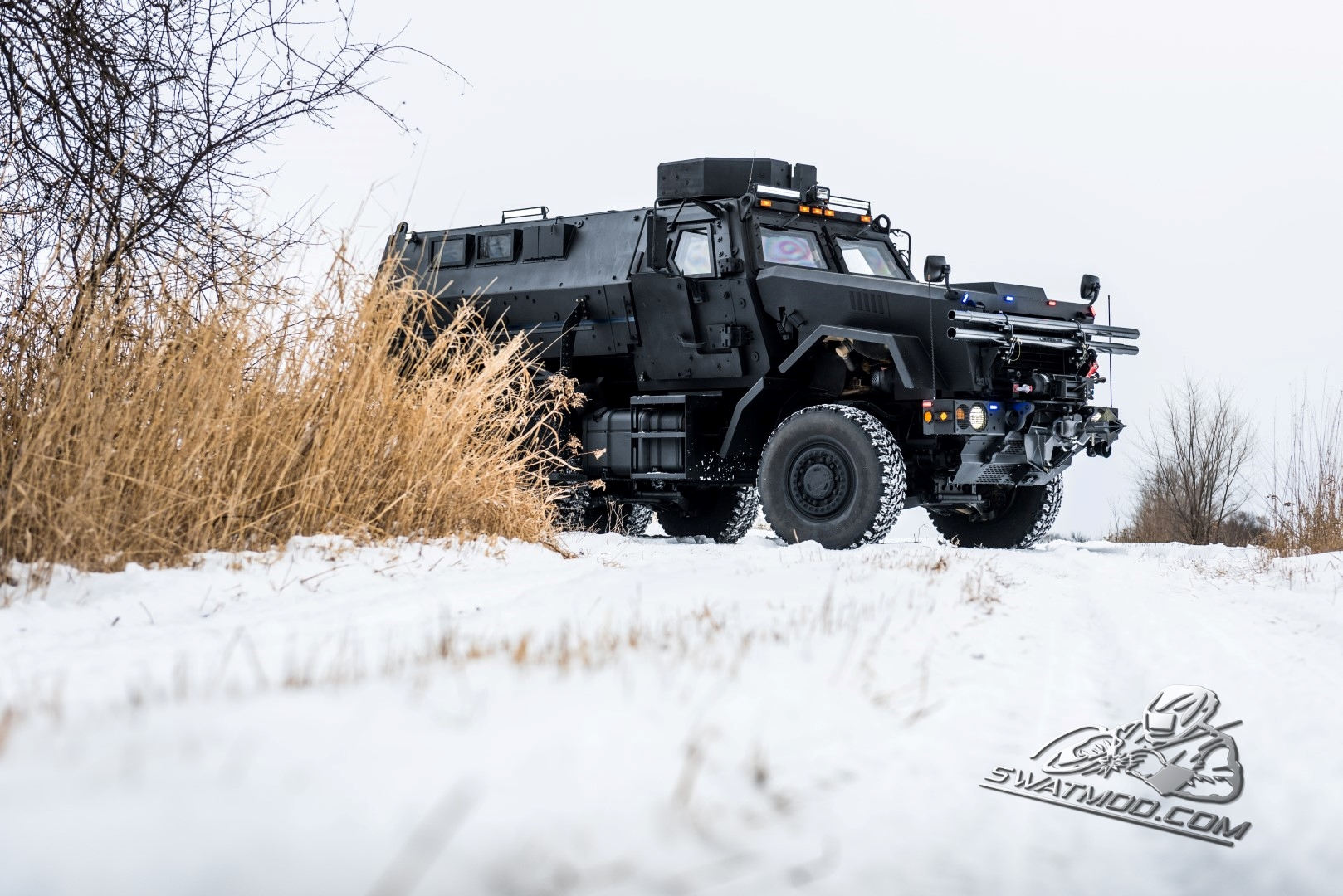 Winter MRAP Training