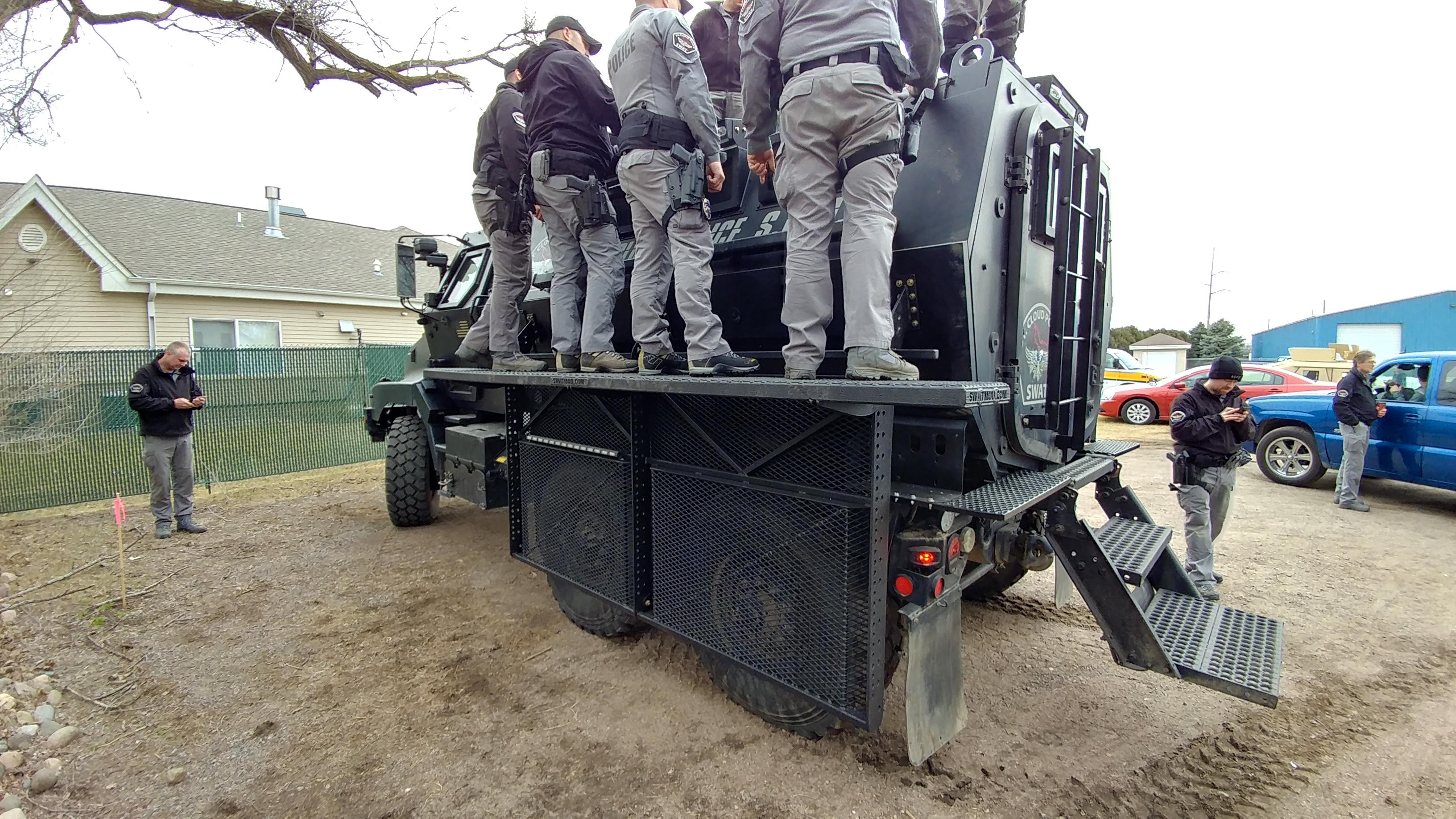 SWAT MRAP Caiman