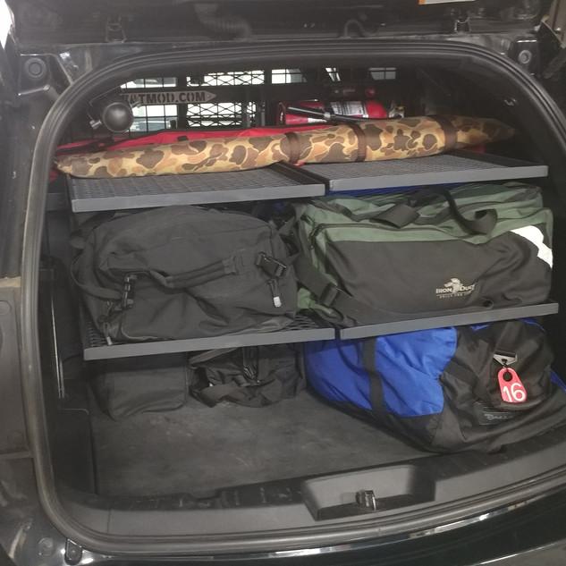 Squad Car Storage Solutions
