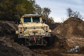 MRAP Training Sand