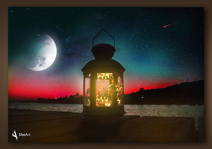 Mystical Night Image Manipulation
