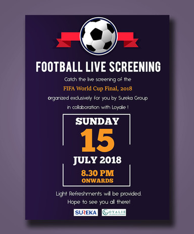 Football Live Screening