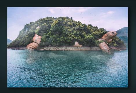 Turtle Island Image Manipulation