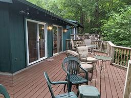 spacious cabin decks