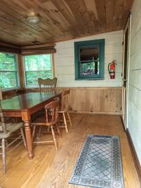 Snowshoe porch