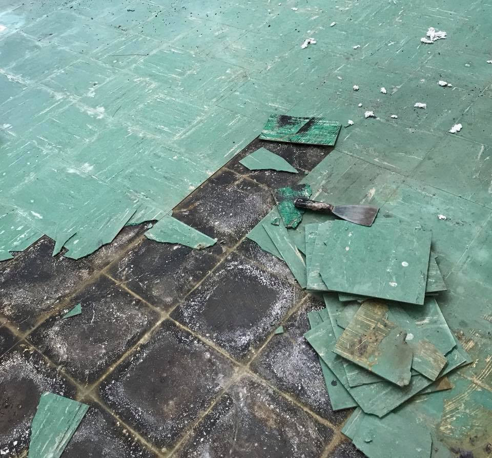 MESS tile job