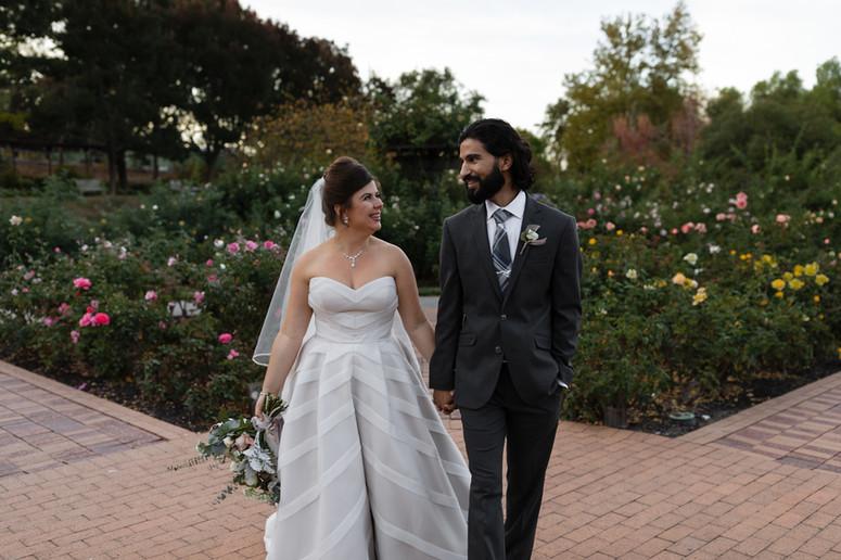 Sweetness & Light Flowers Garden Farms Wedding