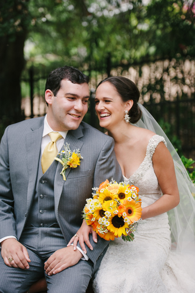 Alison & Mike | Backyard Saratoga Wedding