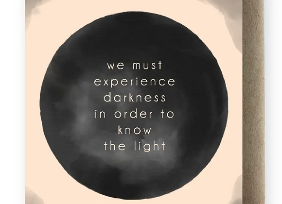 Card | Experience Darkness