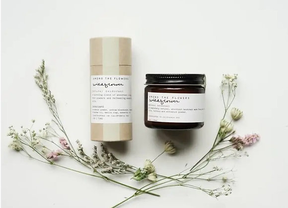 Natural Deodorant, wildflower