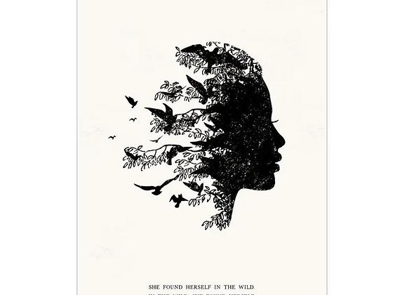 Found Art Print - Wild