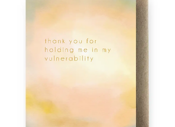 Card | Thank you for being there