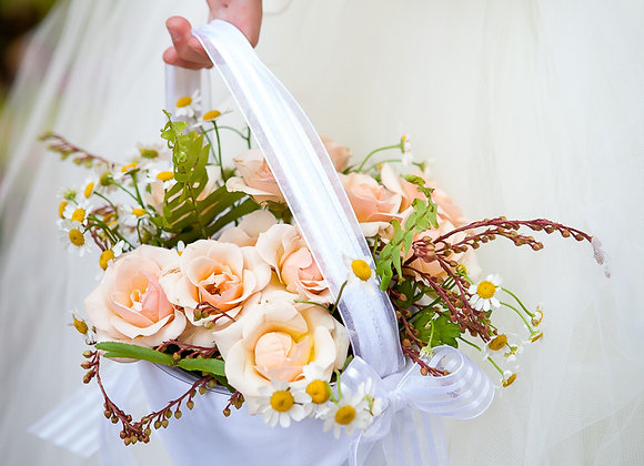 Flower Basket - Not for tossing