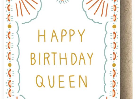 Card   Happy Birthday Queen