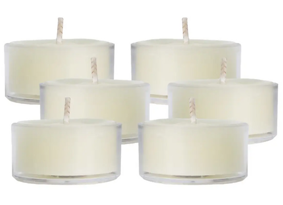 Ivory Beeswax Tea Lights