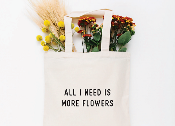 Tote | More Flowers