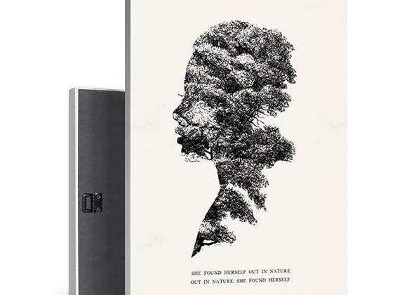 Found Art Print - Nature