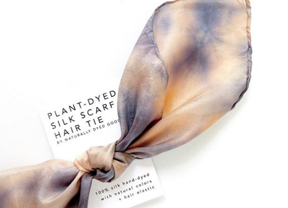 Silk Knot Hair Tie