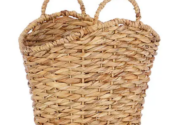 Oblong Water Hyacinth Basket