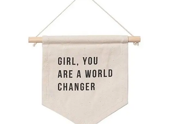 Banner   Girl, You are a world changer