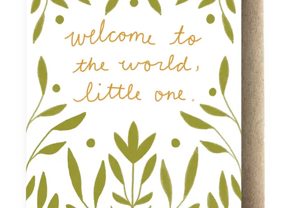 Card | Welcome to the World