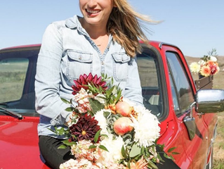 The story behind our name, Red Truck Flowers