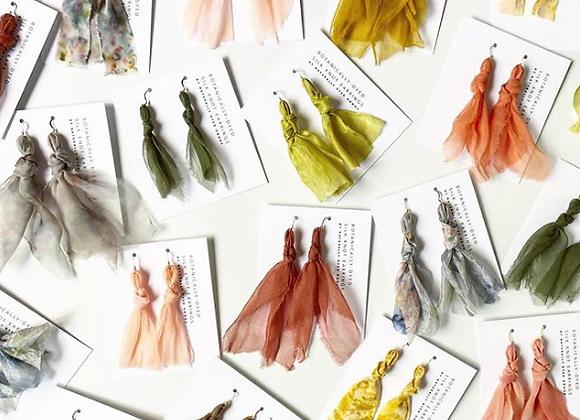 Silk Knot Earrings