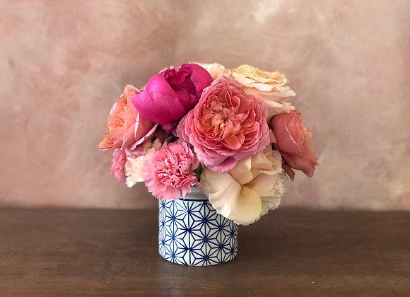 Petite Pavé Mother's Day Vase Arrangement