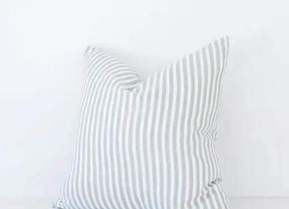 Throw Pillow | Grey Stripe