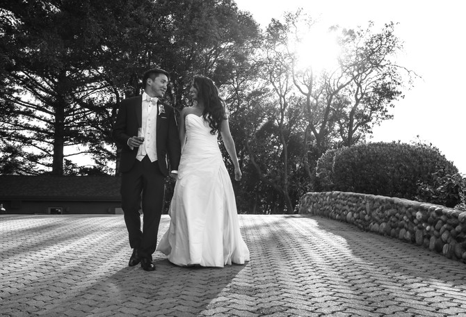 Kalpana & Chris | Thomas Fogarty Winery