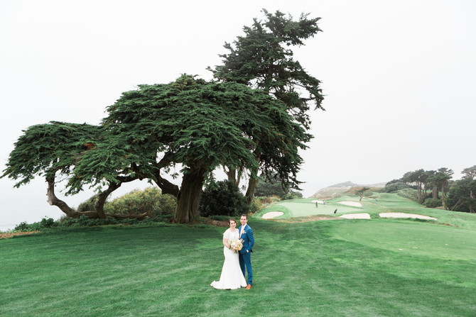 Beautiful Foggy & Bright San Francisco Wedding