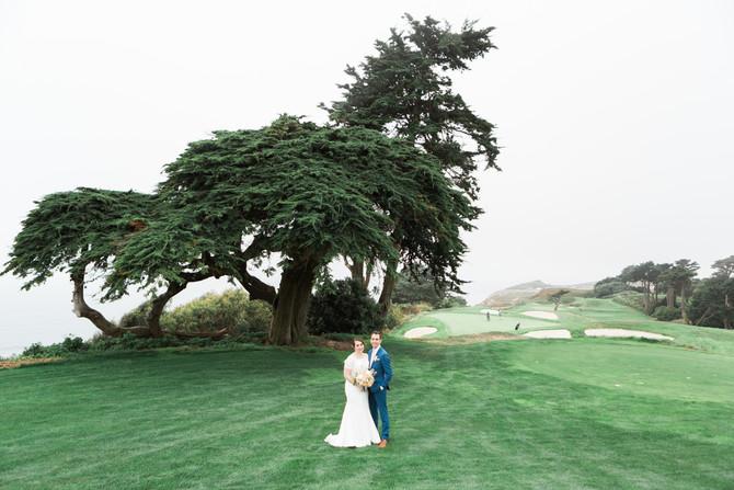 Beautiful Foggy & Bright San Francisco Wedding