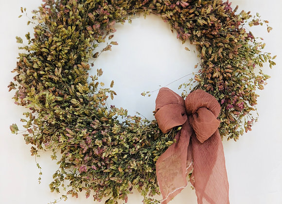 Wreath | Flowering Oregano