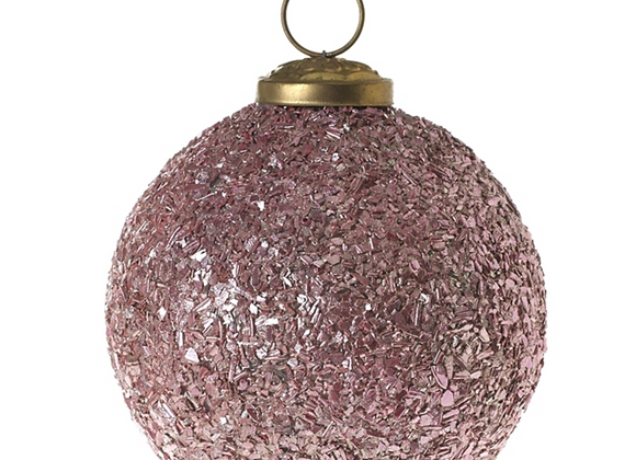 Pink Glitz Ornament