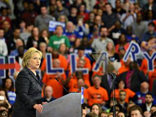 Hillary Clinton visits Cleveland