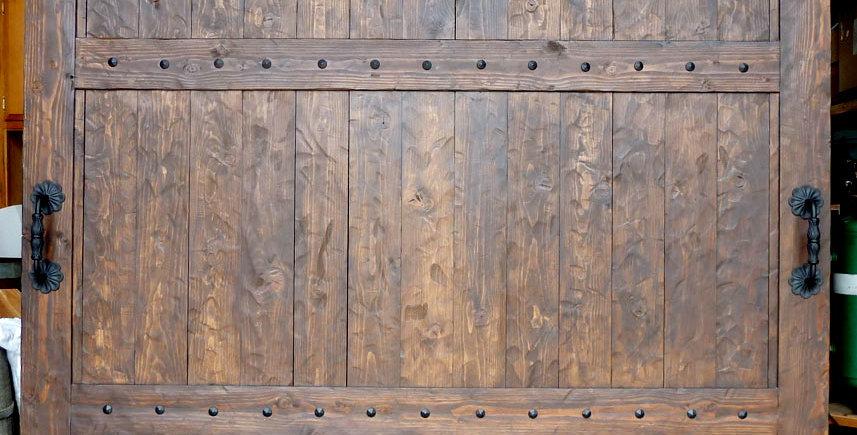 Door001 - Hand-Hewn Douglus Fur Door