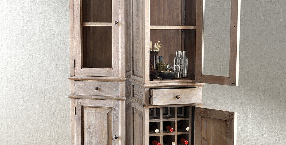 MAH487 - St. Thomas Wine Cabinet