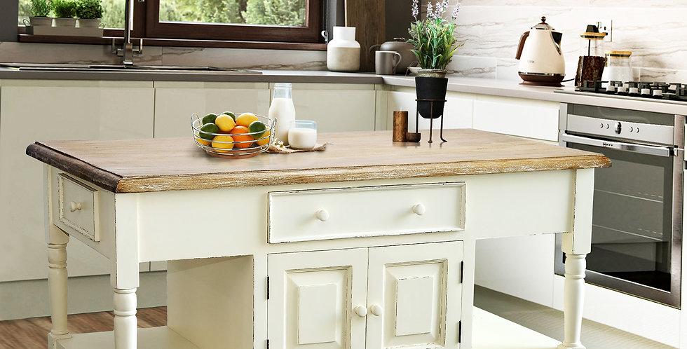 MAH338 - Shannon Large Kitchen Island (4 drawers)