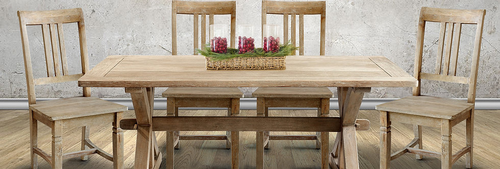 MAH491 - Chamonix Dining Table 6ft