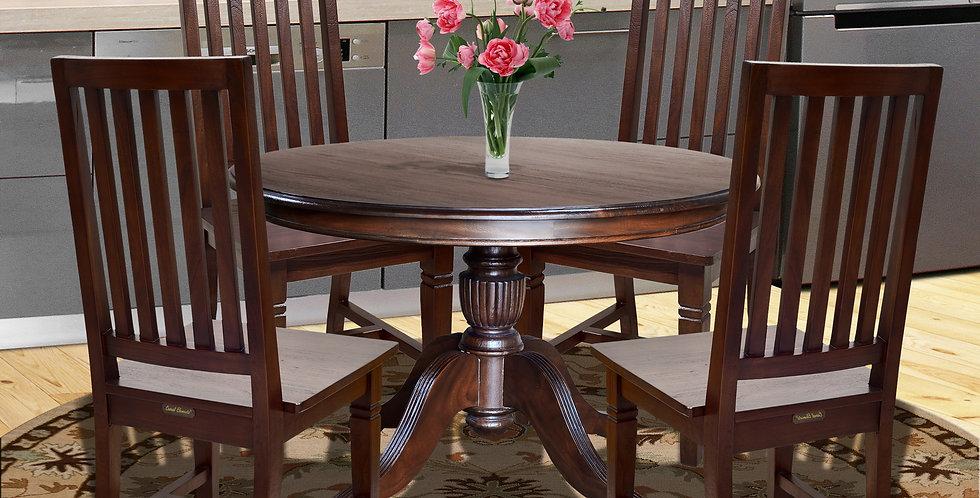 "MAH040 - Venezia Round Dining Table 48"" D."