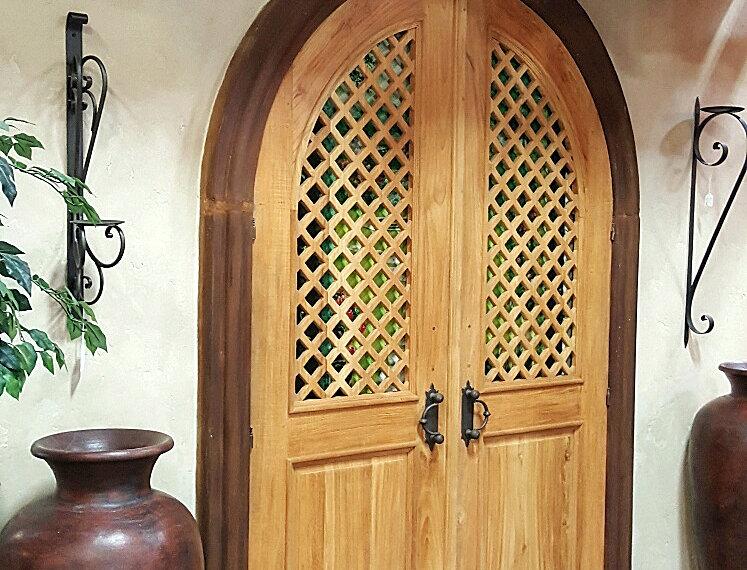 Door007 - Hand-Hewn Douglus Fur Door