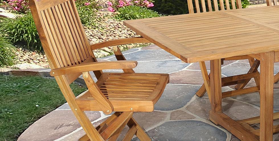 OTT002 - Trinidad Folding Arm Chair