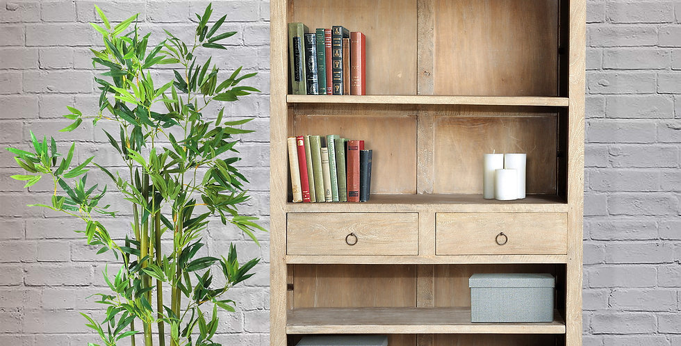 MAH331 - Sophia Bookcase with 2 drawers