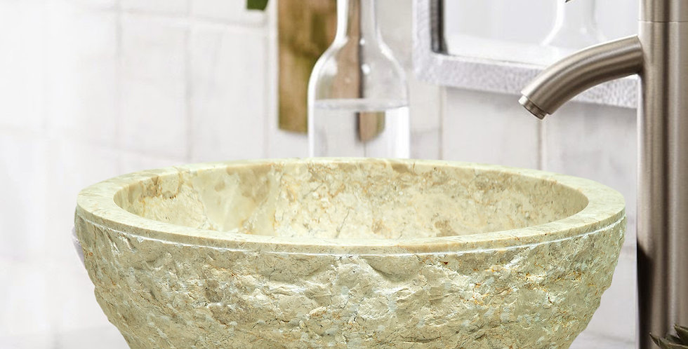 NSC001 - White Marble Sink