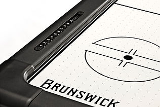 brunswick air hockey table