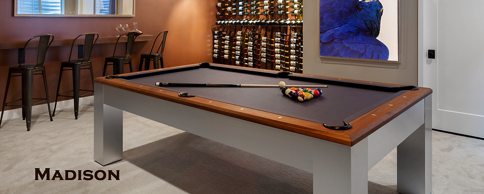 Big Sky Billiards tables