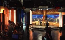 Late Night Stage Set