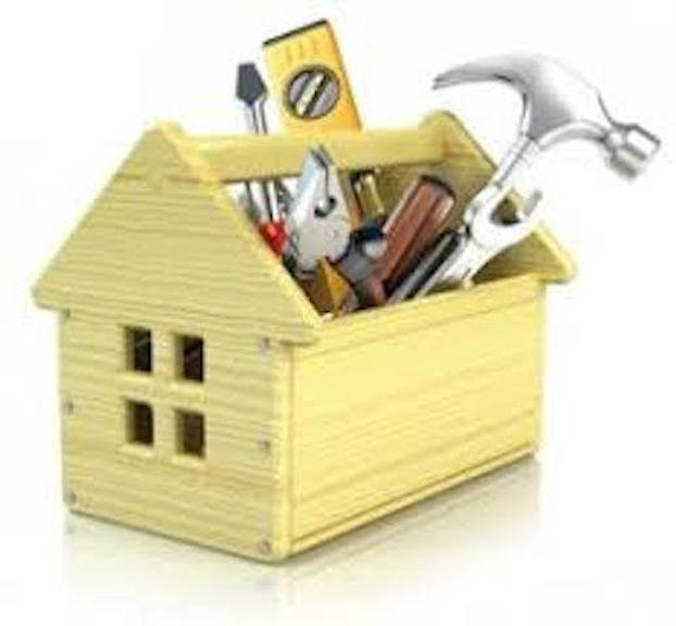 wooden toolbox representing home repairs
