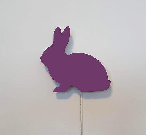 גוף תאורה ארנבון סגול